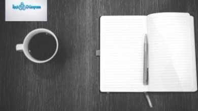masada defter kalem ve kahve