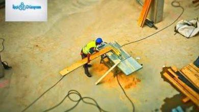 inşaatta çalışan işçi