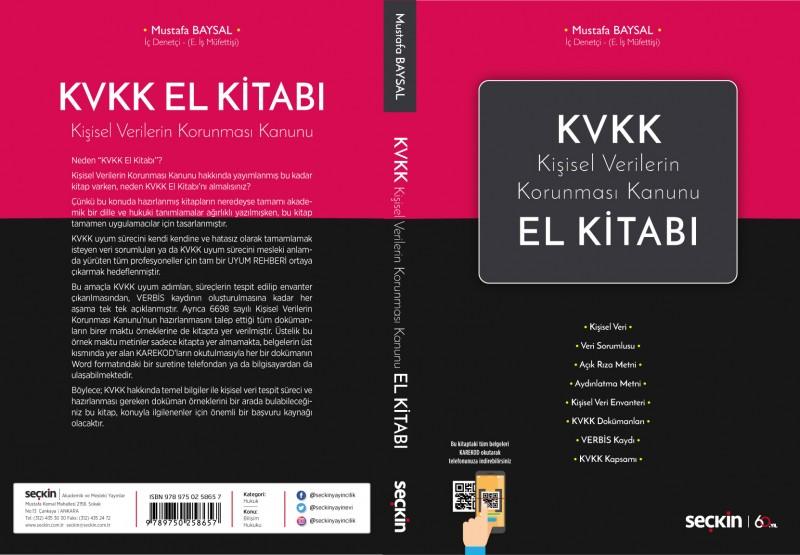 Kişisel Verilerin Korunması Kanunu KVKK el kitabı